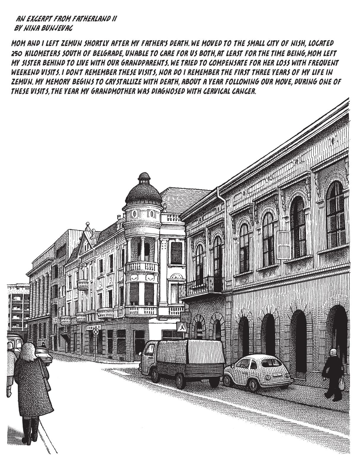 Comic by Nina Bunjevac