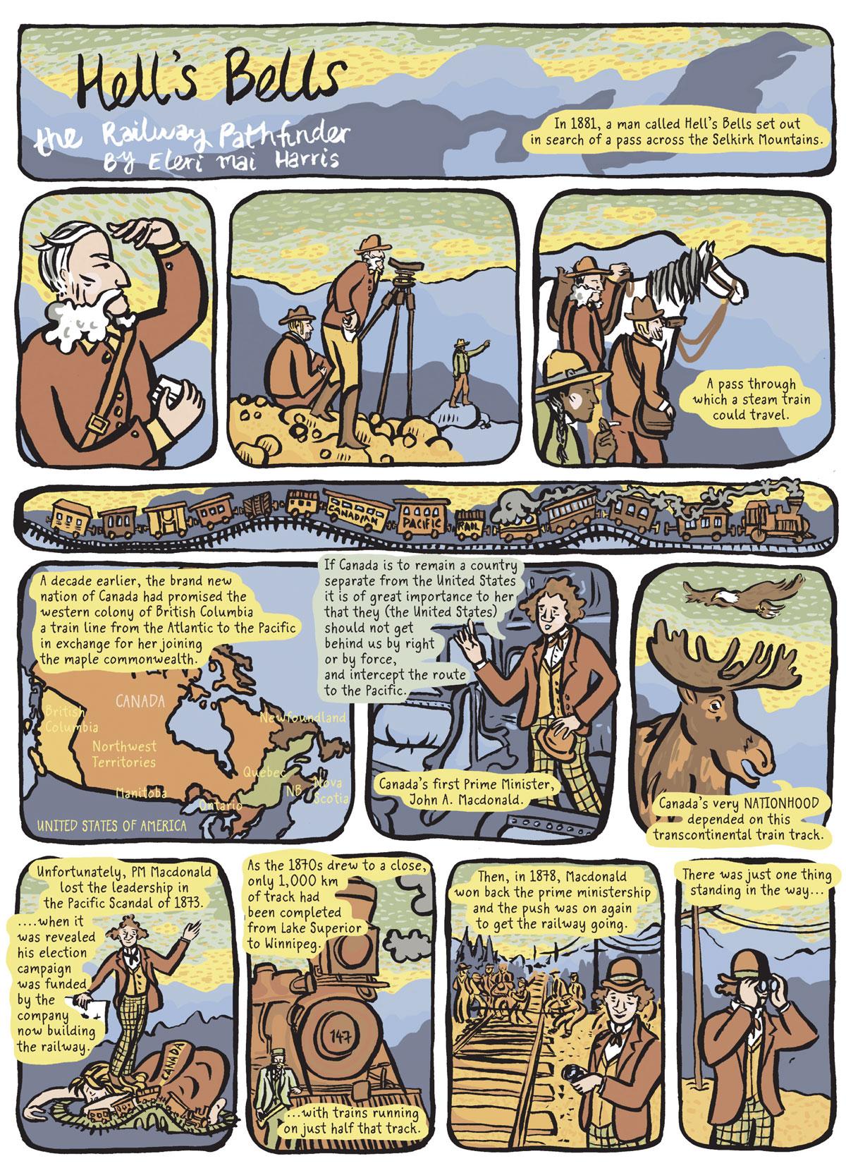 Comic by Eleri Mai Harris