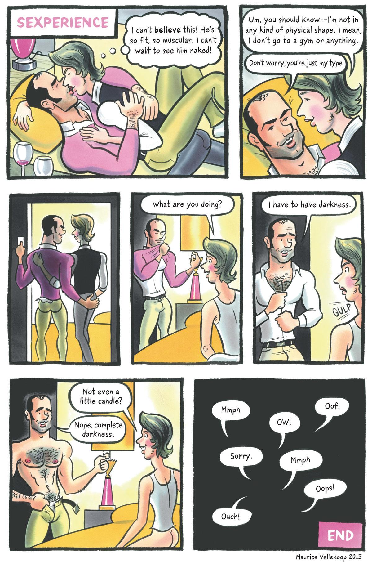 Comic by Maurice Vellekoop