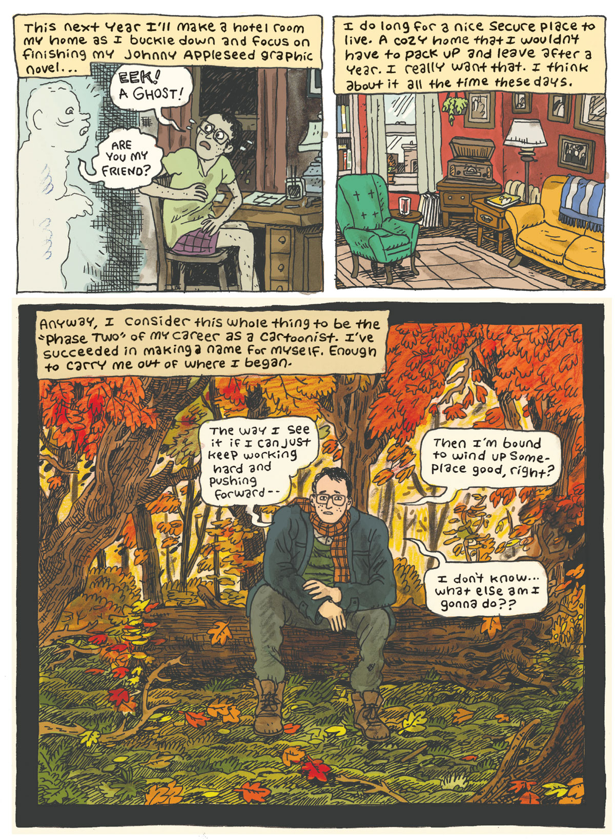 Comic by Noah Van Sciver