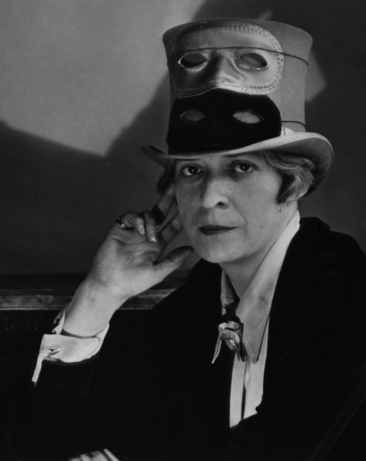 Janet Flanner, Paris (circa 1927) by Berenice Abbott.