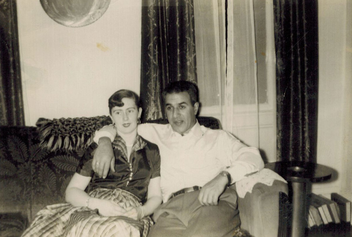 Photograph of Laura Tobias and M. Fred Tobias.
