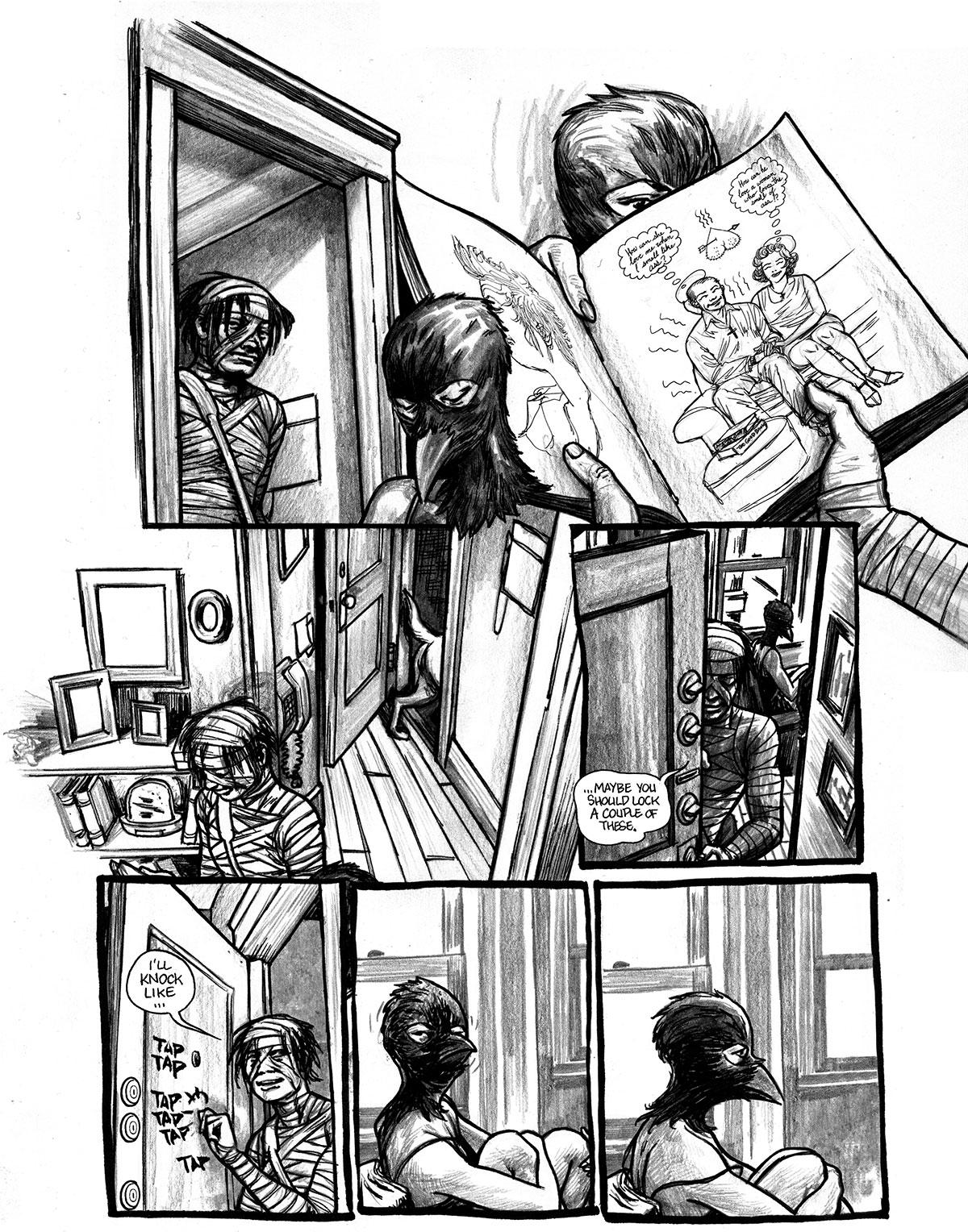 Comic by Jim Munroe and Salgood Sam