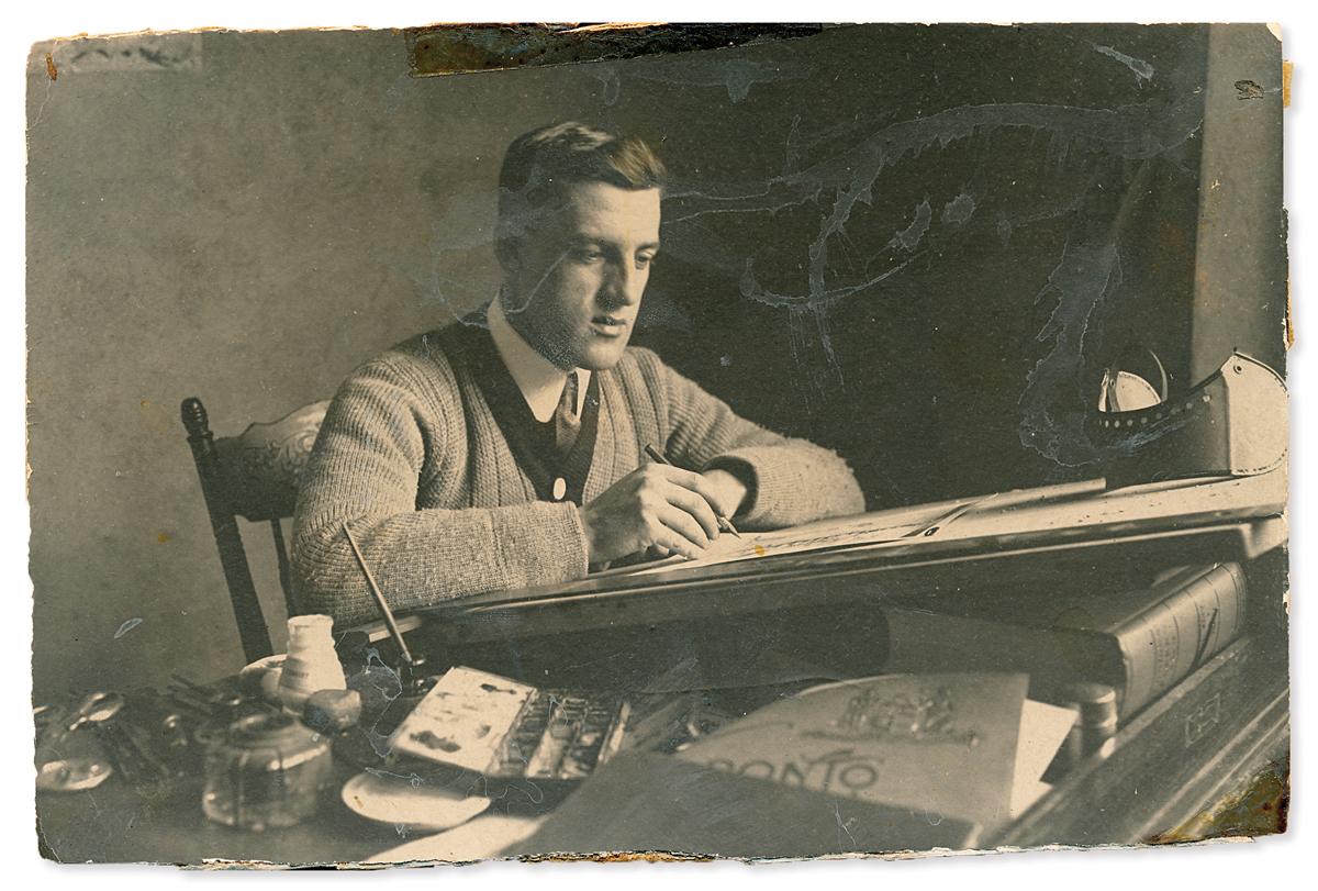 Photo of Lou Skuce, 1915