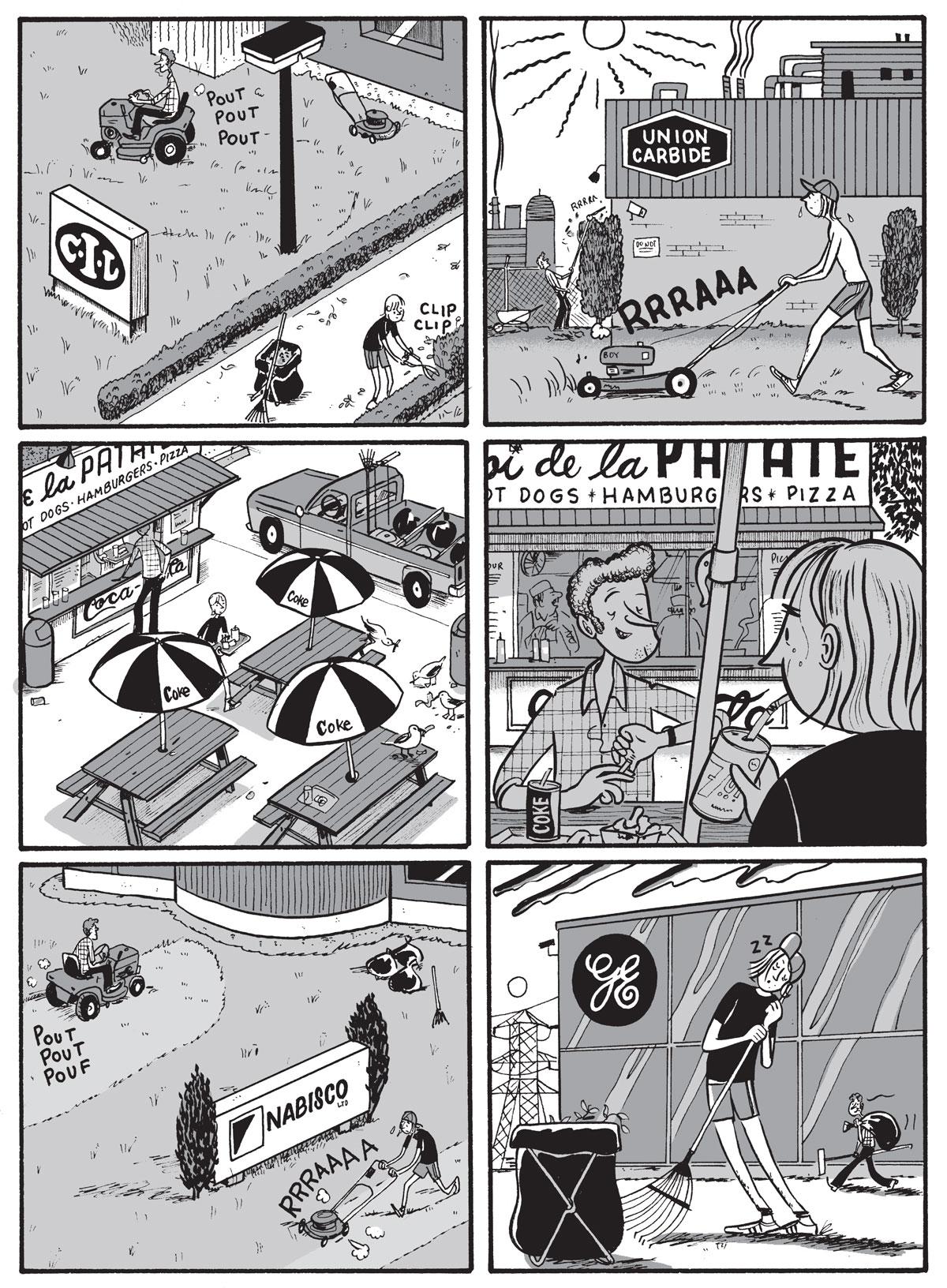 Illustration by Michel Rabagliati