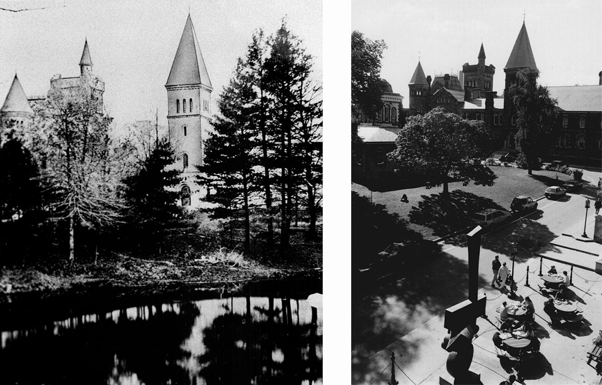 Photographs courtesy of University Toronto Archives and Alfred Holden
